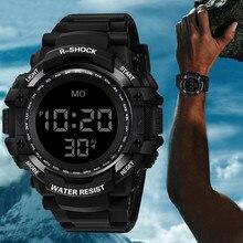 럭셔리 높은 quanlity 캐주얼 LED 시계 남자 디지털 시계 남자 육군 군사 손목 시계 시계 Ceasuri Relogio Masculino @ 5