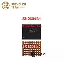 Szteam carregador de chip ic para iphone xs, chip de carregamento original sn2600b1 sn2600b2 u3300 tigray t1