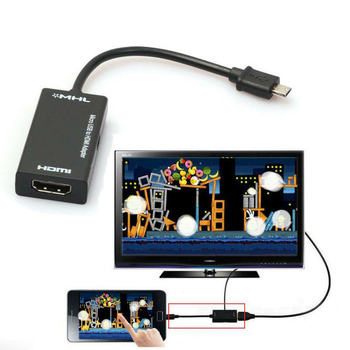 Mini Micro USB 2.0 MHL To HDMI 1080P TV Adapter Cable For Samsung Galaxy