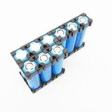 20 pçs 18650 espaçador bateria cilíndrica célula de lítio caso suporte 18650 batterie pacote suporte plástico para diy bateria