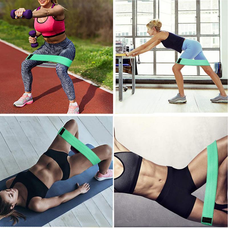 2020 Newest Squat Resistance Band Resistance Rubber Bands Indoor Outdoor Fitness Equipment Sports Belt Yoga Elastic Bands
