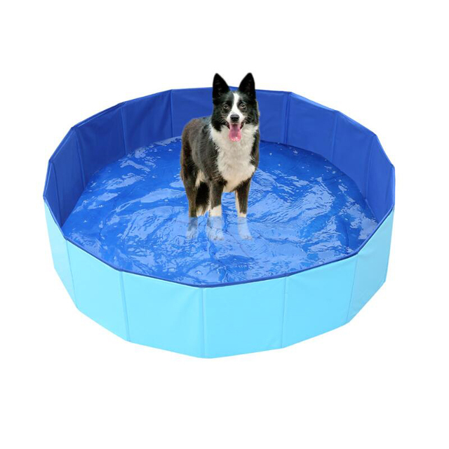 Foldable Padded Puppy Pool For Hot Summer Days  3