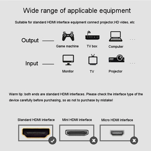 Image 5 - High Speed HDMI cable 0.5m 1m 1.5m 1.8m 2m 3m 5m video cables 1.4 1080P 3D gold plated Cable for HDTV XBOX PS3