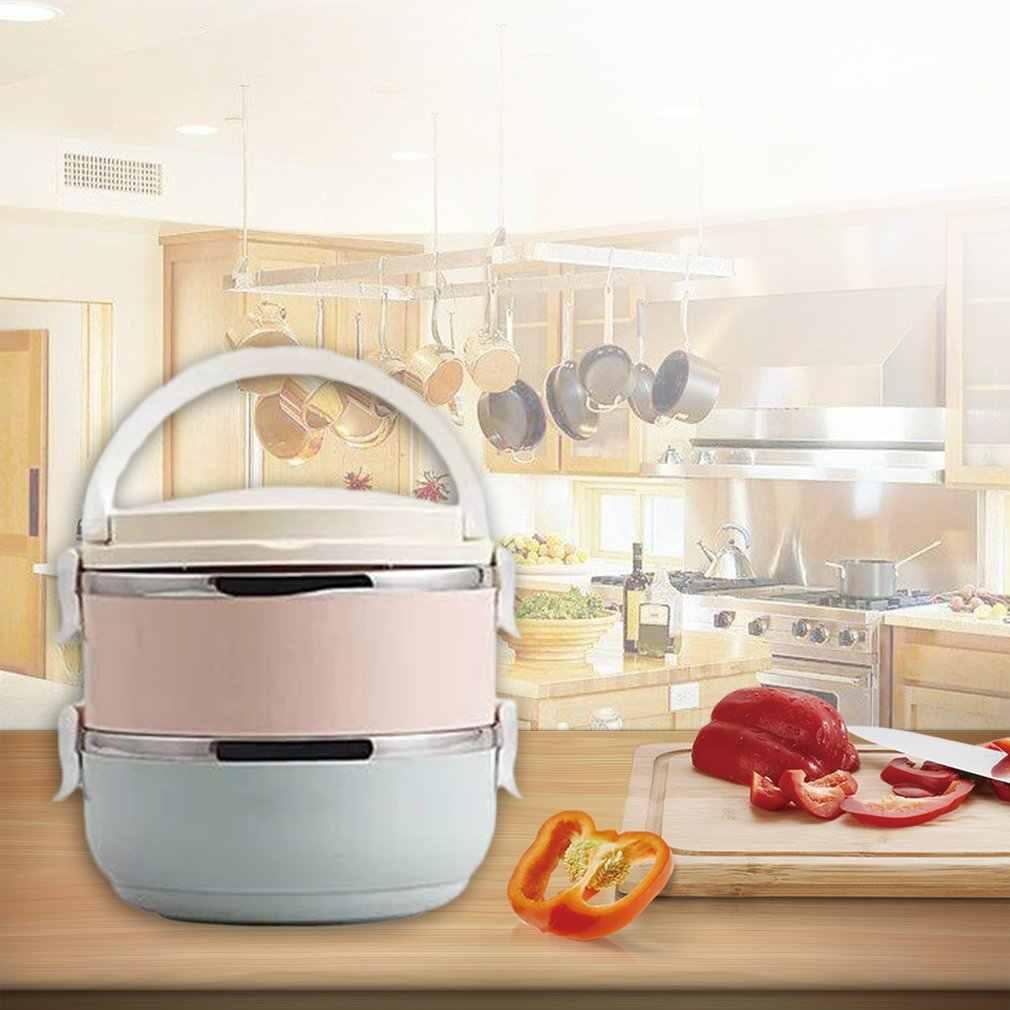 Kompaktowy rozmiar domowy pojemnik biurowy lunchbox termiczny pojemnik na jedzenie pojemnik bento Thermos pudełko na lunch ze stali nierdzewnej dla dzieci przenośny piknik