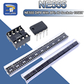 20 шт., (каждого по 10) NE555 NE555P IC 555 таймер программирования осциллятор (chips On Board) 8 Pin гнезда DIP