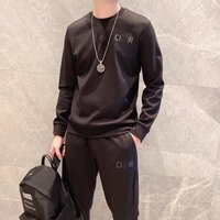 Mens tracksuit Fashion luxury high class Casual suits