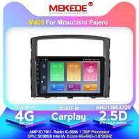 2,5 D IPS Bildschirm 4G lte Android 10 auto dvd gps multimedia-player Für Mitsubishi Pajero 2006-2014 GPS navigation radio audio 4 + 64G