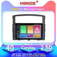 2.5D IPS pantalla 4G lte Android 10 coche dvd gps reproductor multimedia para Mitsubishi Pajero 2006-2014 navegación GPS radio de audio 4 + 64G