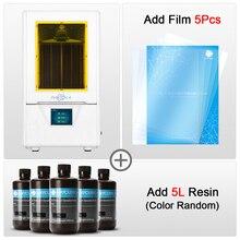 طابعة LCD ثلاثية الأبعاد, عالية الجودة، شاشة ملونة 2.8 بوصة، سرعة الطباعة 20 مم/ساعة كحد أقصى، اقتصادية في استهلاك الطاقة، خفيفة الوزن، فعالة
