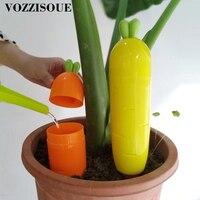 Novo criativo auto micro sistema de irrigação por gotejamento cenoura grande ponto rega automática para flor auto rega planta interior 300 ml