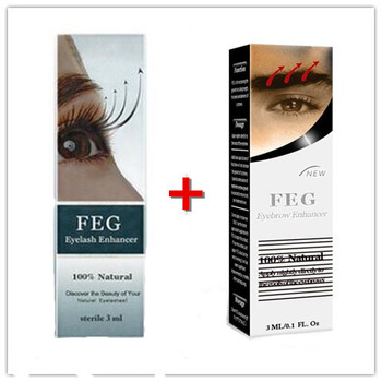 FEG Eyelash /Eyebrow Growth Oil Natural Herbal Serum 100% Original Eyelash Serum Eyebow Longer and Growth Bushy