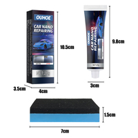 Anti-scratch Coating Liquid Wax Car Wax Paint Paste Set Scratch Paint Care 2pc 20g Upholstery Cleaner Automobile Coating Wax 4