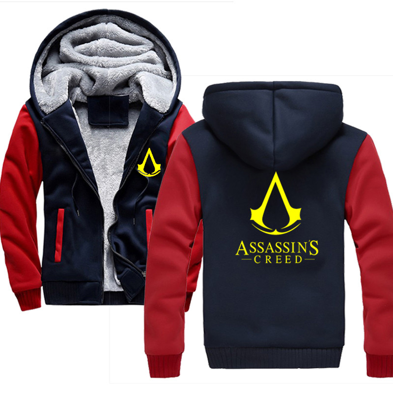 GAME Unity Men Jacket Sweatshirts Thicken Hoodie Coat Clothing Casual Winter Hoodie Mens image