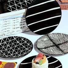 6'lı Special Design Handmade 21cm Cake Dish Set