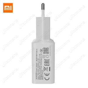 Image 3 - Xiaomi オリジナル充電器 2.5A 9 v/2A eu クイック高速 qc 3.0 タイプ c usb データケーブル旅行充電アダプタ mi 5 6 8 redmi 注 7