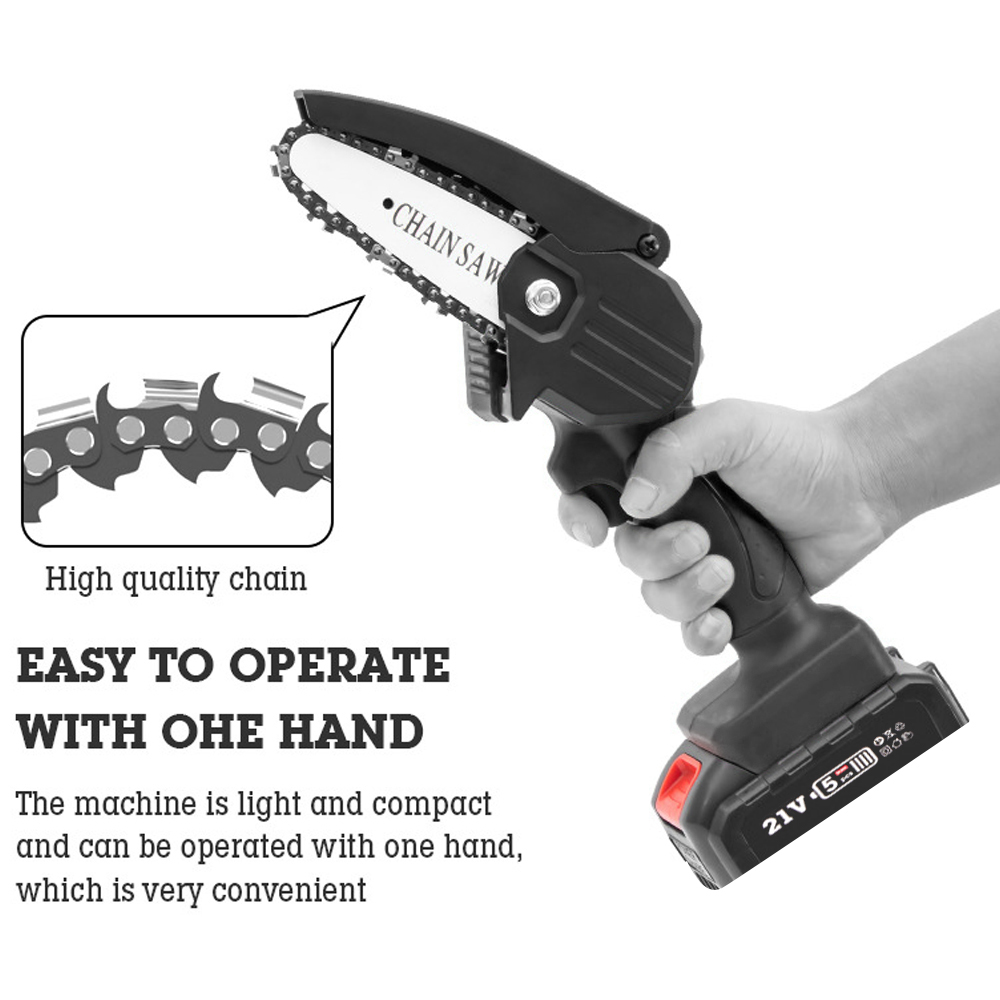Mini Electric Pruning Saw 2PCS Lithium Battery Rechargeable Small Electric Saws Woodworking Electric Saw Garden Logging