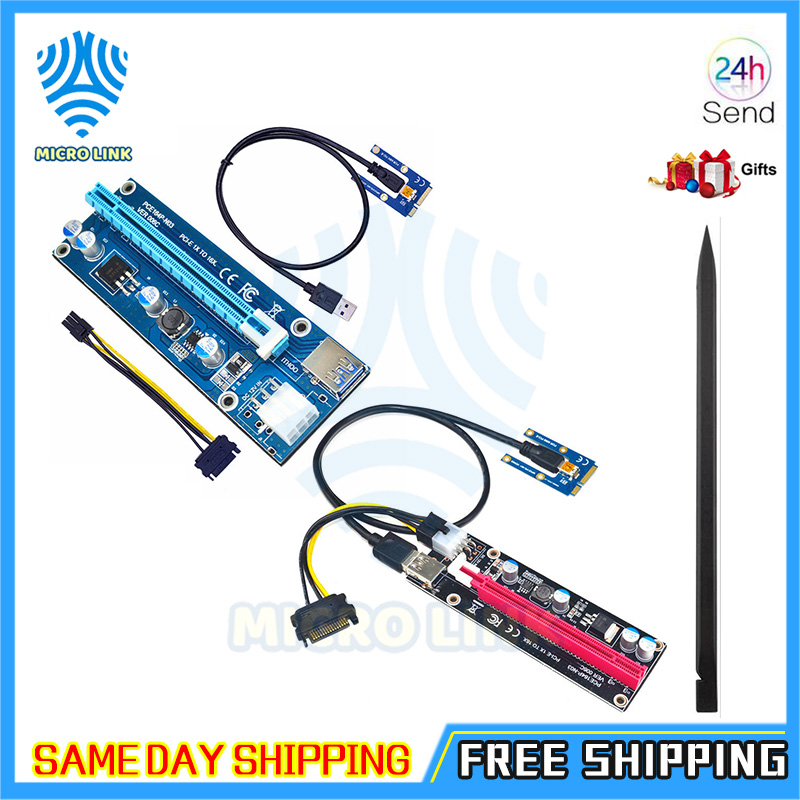 Mini PCIe to PCI express 16X Riser for Laptop External Graphics Card EXP GDC BTC Antminer Miner mPCIe to PCI-e slot Mining Card-0