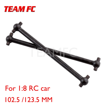 2Pcs HSP Center Dog bone drive shaft 60063P 6009 102.5 /123.5 mm for1/8 Remote Control RC Car Truck 94760 94761 94762 94763 Baja image