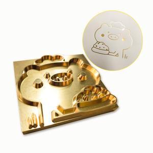 Image 5 - Sello de cuero con logotipo personalizado, molde de calefacción de molde de relieve con letras, sello de Metal, piel de hierro