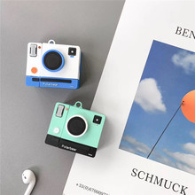 For AirPod 2 Case 3D Retro Camera Cartoon Soft Silicone Wireless Earphone Cases Apple Airpods Cute Cover Funda