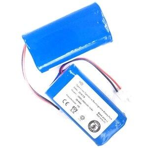 Перезаряжаемая батарея 2x фильтр + 2 щетки 14,8 в 2800 мАч аксессуары для роботизированного пылесоса для chuwi Ilife A4 A4S A6