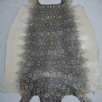 whole piece genuine leather craft Lizard skin with original color
