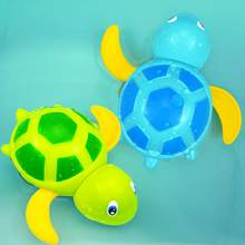 Baby Bath Toy Swimming Small Turtle Clockwork Playing Water Bathtub For Kids Children Boys Girls(China)