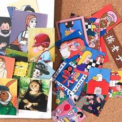 20 sztuk Kawaii Prank plac materiał naklejki DIY Album Scrapbooking Journal rzemiosło dekoracyjne naklejki pakiet DIY albumy ze zdjęciami