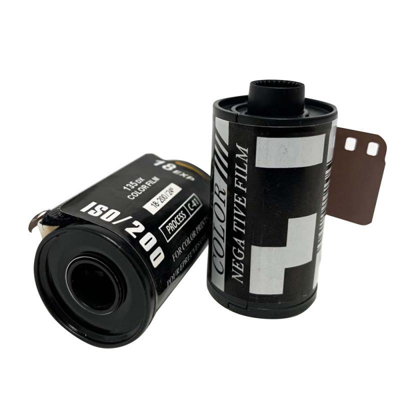 Фото 35 мм камера ISO SO200 Тип-135 цветная пленка для начинающих (18 /12/8 шт./рулон) комплекты для фотостудии