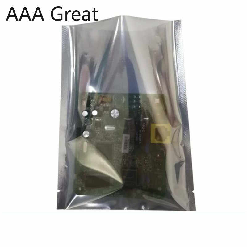 100pcs/Lot Antistatic ESD Shielding Open Top Package Bag Heat Seal Moisture Proof Anti Static Pouch Bags for Electronic Supplies