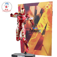28CM 1/6 Scale Avengers Ironman MK43 Tony Stark Action Figures Model Collections Children Gift Toys