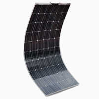 XINPUGUANG 180W semi-flexible contact solar panel 10A with High efficiency solar cell the solar module charging the 12v battery