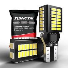 Diodo emissor de luz t16 t15 w16w lâmpadas led canbus nenhum erro reverso carro backup luz para kia rio 2 3 k2 k3 braço optima ceed sorento cerato