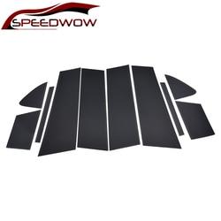 SPEEDWOW coche puerta columna postes cubierta medio BC columna coche pegatina para Mazda 6 Atenza 2014-2018