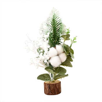 top selling product in 2020 Wooden PET Multi-style Window Gift Christmas Small Christmas Ornaments Tree Support Wholesale image