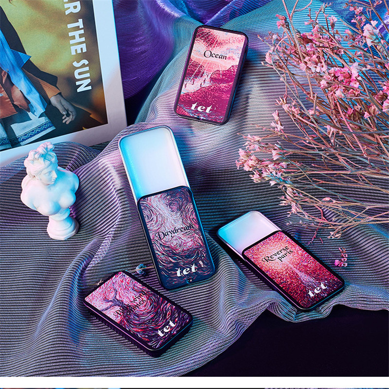 1pc Eau De Parfum 10g Women Soild Perfume Feminino Portable Box Flower Fruit Fragrance Floral Cream Female Parfum Metal Casing