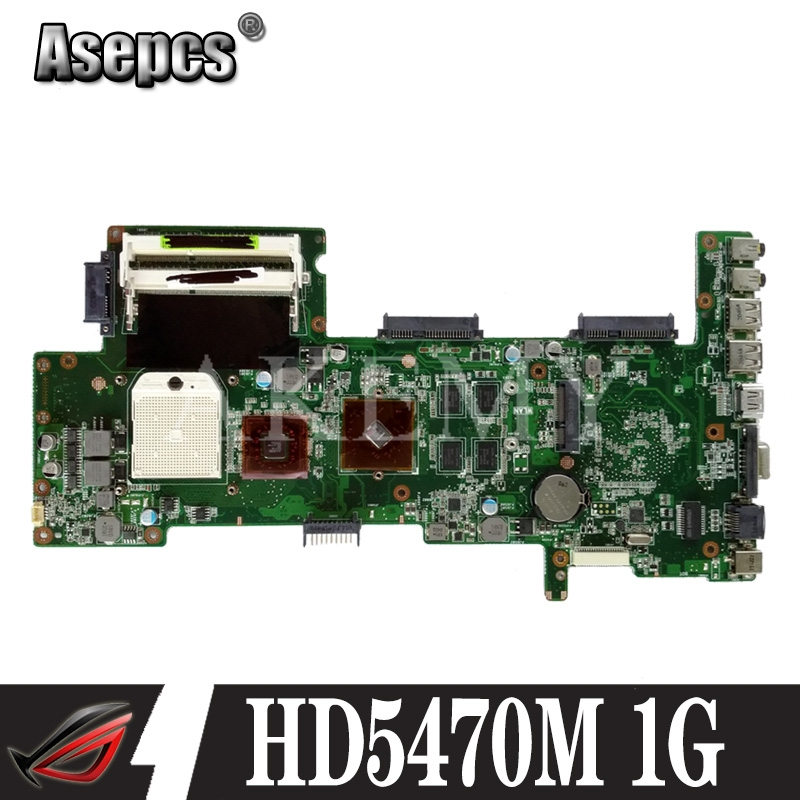 AKEMY K72DR Laptop Motherboard For ASUS K72DR X72D X72DY A72D Mainboard 100% Test Ok HD5470M 1G