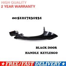 Zwarte Kleur Voor Bmw F07 F10 F06 F11 F01 F03 F04 Linksvoor Rechtsachter Buiten Deurklink Keylesgo 51217231931