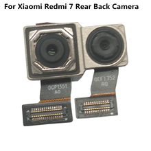 Azqqlbw ل شاومي Redmi 7 الخلفية الخلفية الرئيسية وحدة الكاميرا فليكس كابل ل شاومي Redmi 7 عودة كاميرا استبدال إصلاح أجزاء
