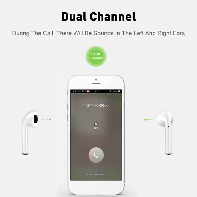 Original Touch Control Wireless Headphones Bluetooth 5.0 Earphones  Mini Headset i9S TWS With Mic earbuds 3