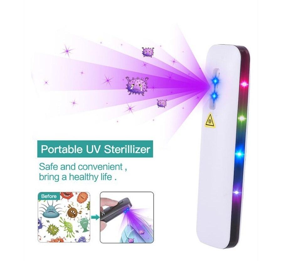 portátil lâmpada de esterilização de proteção esterilizador portátil