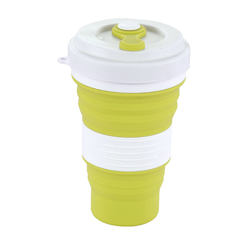 Folding Silicone Mug Portable Water Cup