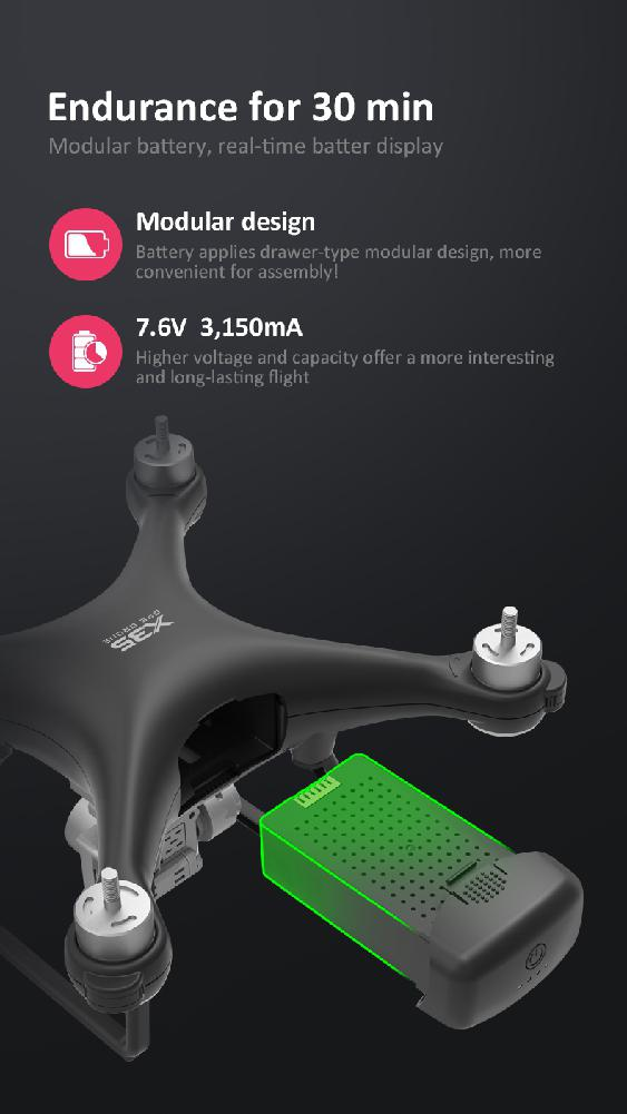 Xinlin X191 Drone : xinlin, drone, Drone, Camera, Professional, Quadcopter, Brushless, Motor, Drones, Gimbals, Stabilizer, Minute, Flight|RC, Helicopters|, AliExpress