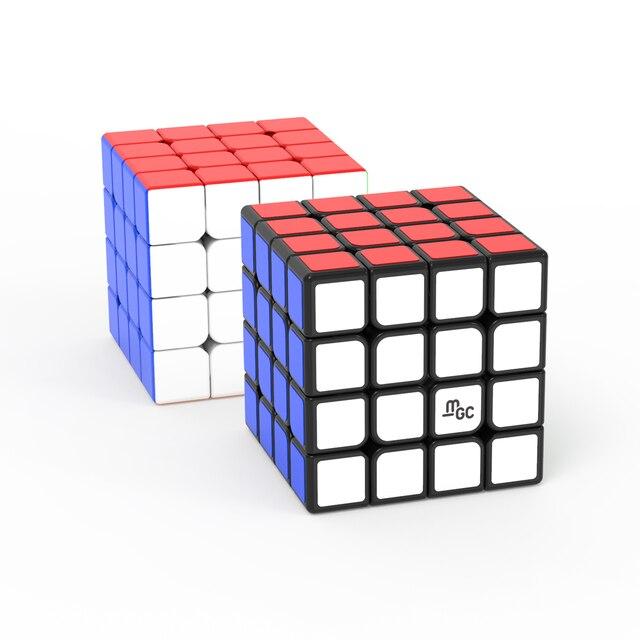 Newes YJ MGC 4x4 Magnetic Cubing Speed YJ MGC 4 M 4M mgc4 M 4x4x4 Puzzle Yongjun Magico Cubo Educational Toys for Children 2