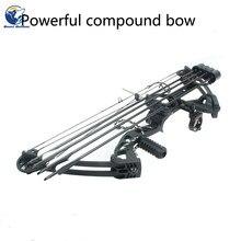 35-70 libras arco composto mão direita conjunto de arco ajustável para tiro alvo de pesca ao ar livre prática de caça tiro com arco