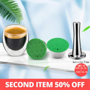 Capsule-Pod Baskets COFFEE-FILTERS Tea-Dripper Dolce Gusto Stainless-Steel Reusable Nescafe