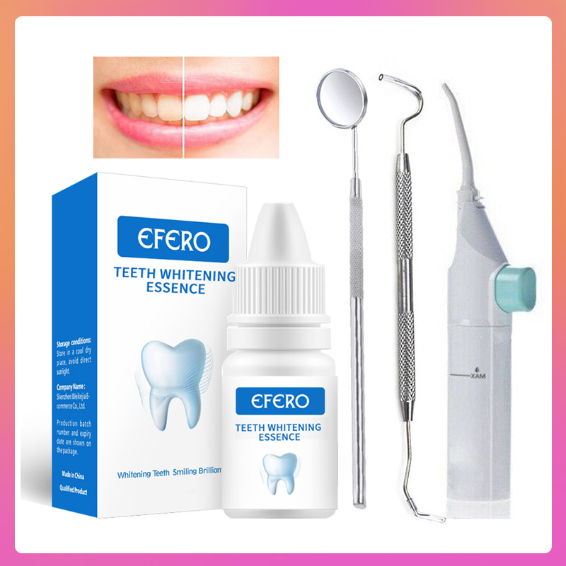 Whitening Teeth Serum Cleaning Plaque Stains Dental Mirror Teeth Whitening Serum Dentist Bleach Tools Oral Hygiene Product