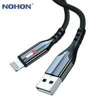 Cable de carga USB de 3m para móvil, Cable de datos de carga rápida, largo, para iPhone 12 11 Pro X XS Max 5 SE 6 6s 7 8 Plus iPad LED 3A