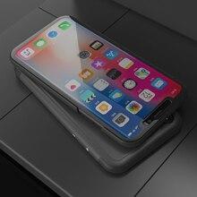 Funda espejo para iphone funda 5S 5 se funda transparente para iphone 6 6s 7 8 plus funda con soporte para iphone XR Xsmax protección completa
