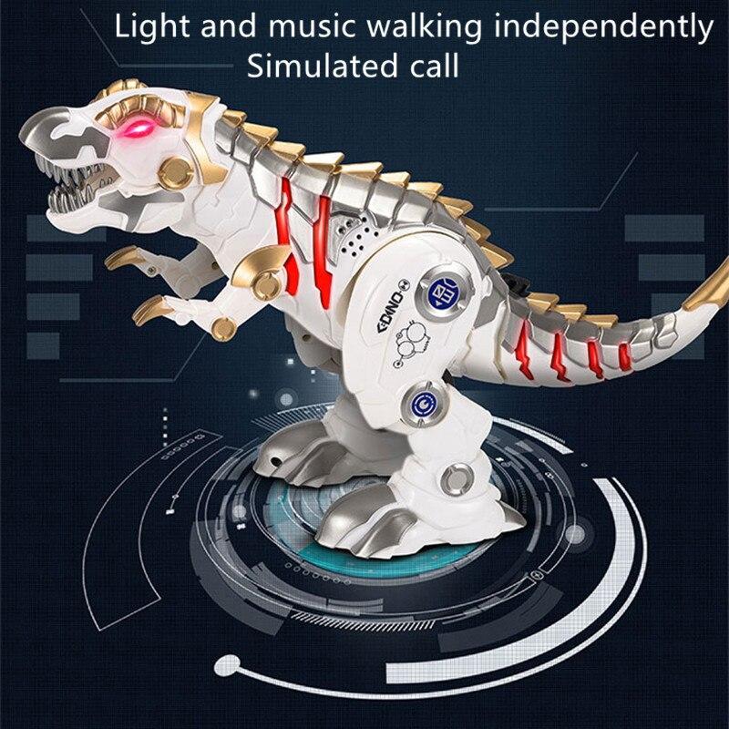 Top SaleäToy Intelligent Mechanical-Robot Light Simulation Slide Remote-Control-Dinosaur Spin╗
